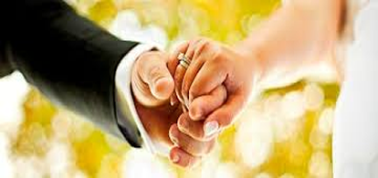 hands holding marriage