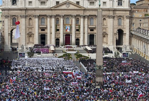 St. Peter's Square during Beatification