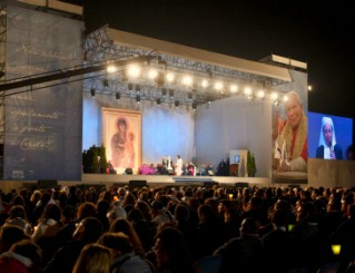 Vigil before Beatification of JPII